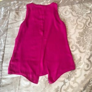 Express pink tank top size small